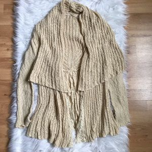 Anthropologie Knitted & Knotted Sirretta Cardigan